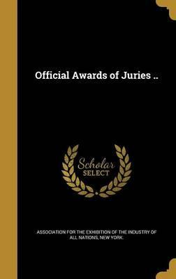 Official Awards of Juries ..