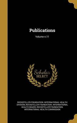 Publications; Volume N.11