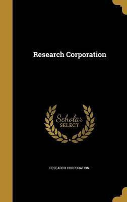 Research Corporation