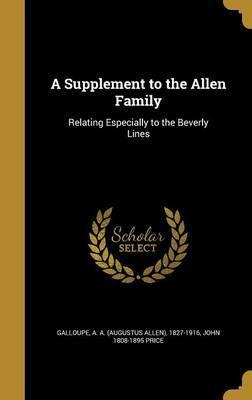 A Supplement to the Allen Family