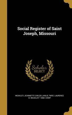 Social Register of Saint Joseph, Missouri