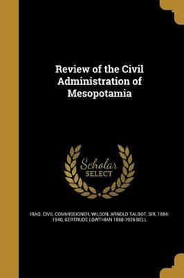 Review of the Civil Administration of Mesopotamia