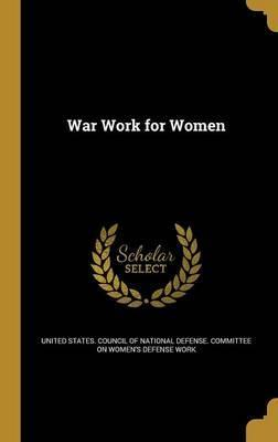 War Work for Women
