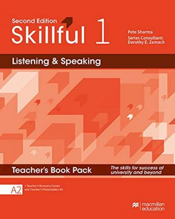 Skillful Second Edition Level 1 Listening and Speaking Teacher's Book Premium Pack