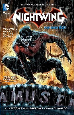 Nightwing Vol. 3: Death of the Family (The New 52) Cover Image