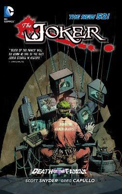 The Joker: Death of the Family (The New 52) Cover Image