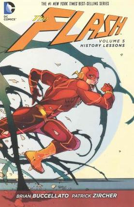 The Flash Vol. 5 History Lessons (The New 52) Cover Image