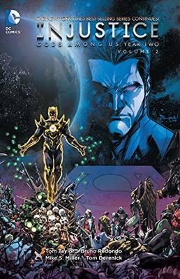 Injustice Gods Among Us Year Two Vol. 2 Cover Image