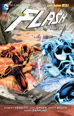 The Flash Vol. 6 Out Of Time (The New 52) Cover Image