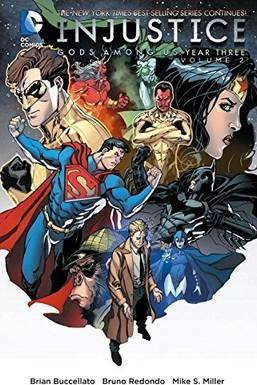 Injustice Gods Among Us Year Three Vol. 2 Cover Image