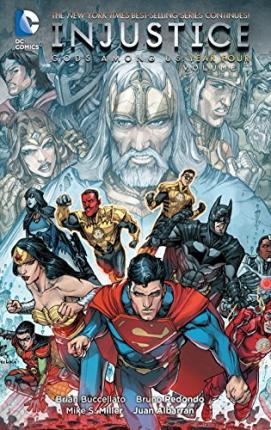 INJUSTICE GODS AMONG US YEAR TWO VOLUME 1 HARDCOVER New Hardback Collects #1-6