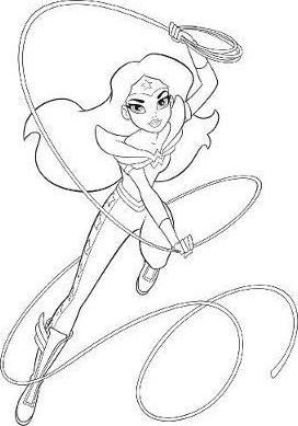Dc Superhero Girls Coloring Book