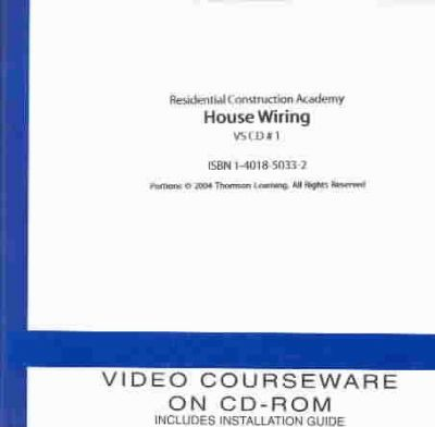 [NRIO_4796]   Residential Construction Academy: House Wiring CD Set : Gregory W Fletcher  : 9781401850357 | Residential Construction Academy House Wiring |  | Book Depository