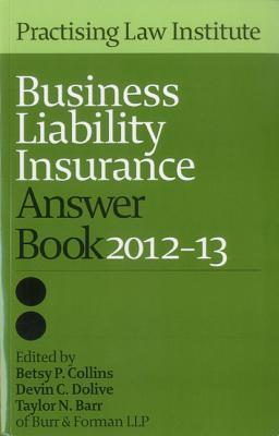 Business Liability Insurance Answer Book 2012