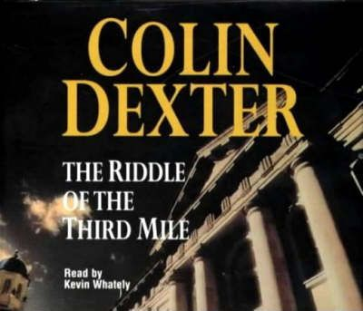 the riddle of the third mile dexter colin