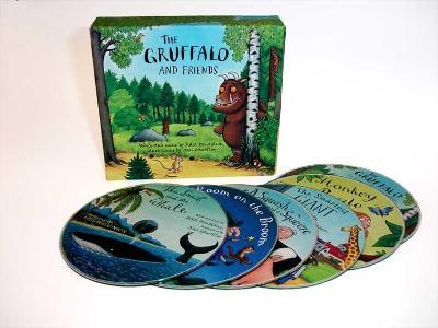 The Gruffalo and Friends (6-CD set)