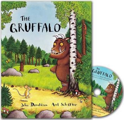 The Gruffalo Book and CD Pack