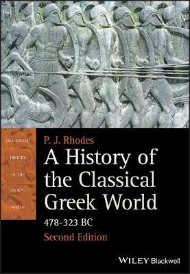 a history of the classical greek world p j rhodes 9781405192866