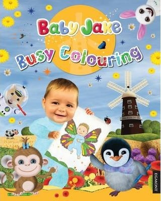 Baby Jake Busy Colouring