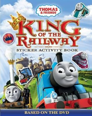 Thomas & Friends King of the Railway Sticker Activity Book