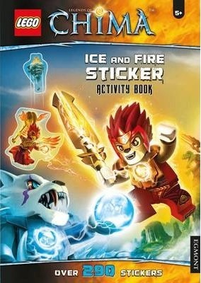 Lego (R) Chima Ice and Fire Sticker Activity Book