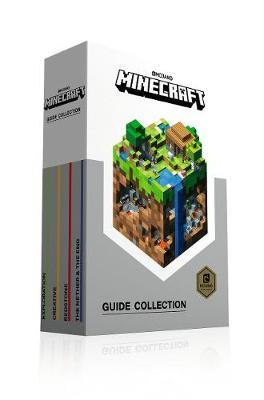 minecraft guide collection 4 books collection box set mojang ab rh bookdepository com minecraft guide book walmart minecraft guide book free