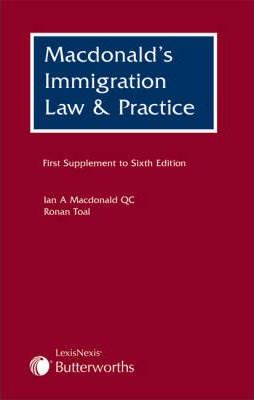 MacDonald's Immigration Law and Practice First Supplement