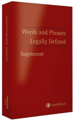 Words and Phrases Legally Defined 2012 Supplement