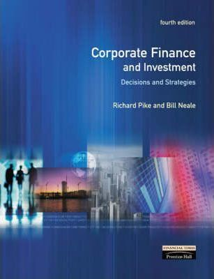 Corporate finance investment decisions strategies conti investments bvn