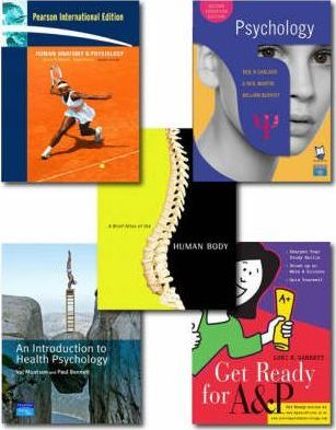 Valuepack: Human Anatomy & Physiology:International Edition with Human Anatomy and Physiology Atlas/Get Ready for A&P/Carlson, Psychology Second Edition with MyPsychLab (Course Compass) and Health Psychology: An Introduction