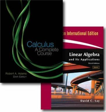 Student Solutions Manual for Calculus: a Complete Course