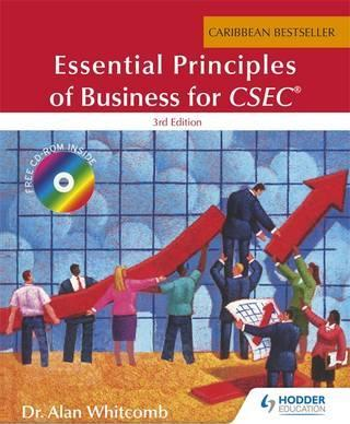 Essential Principles of Business for the Caribbean 3E