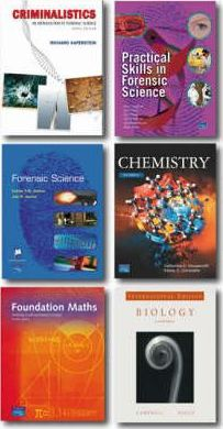 Valuepack: Criminalistics: An Introduction to Forensic Science/ Practical Skills in Forensic Science/Forensic Science/Biology/Chemistry: An Introduction to Organic, Inorganic and Physical Chemistry/ Foundation Maths.