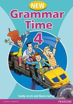 Grammar Time 4 Student Book Pack New Edition Cover Image
