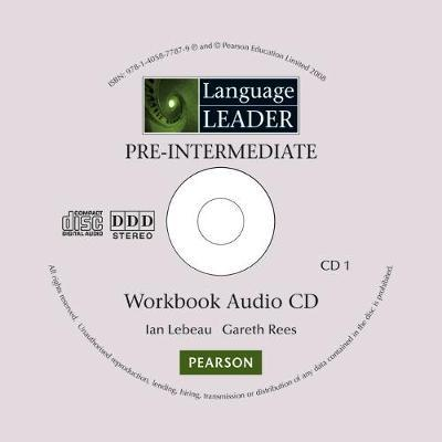 Language Leader Pre-Intermediate Workbook Audio CD for Pack