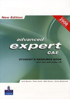 Astrosadventuresbookclub.com CAE Expert New Edition Students Resource Book with Key/Cd Pack Image