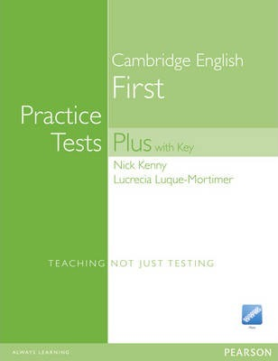 Practice Tests Plus Fce New Edition Students Book With Key
