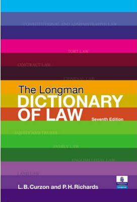Valuepack:The Longman Dictionary of Law/Letters to a Law Student:A Guide to Studying Law at University