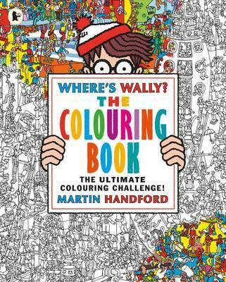 Wheres Wally The Colouring Book Martin Handford 9781406367300