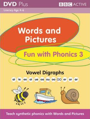 Words and Pictures Fun with Phonics 3 DVD Plus Pack