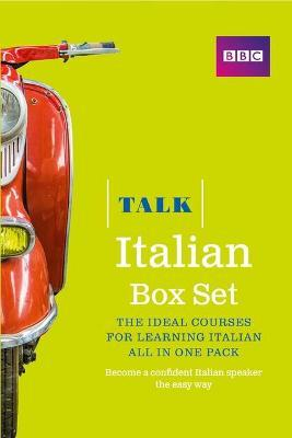 Talk Italian Box Set (Book/CD Pack) : The ideal course for learning Italian - all in one pack