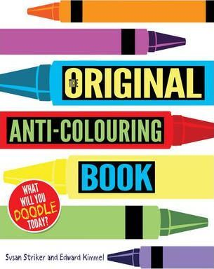 The Original Anti-Colouring Book