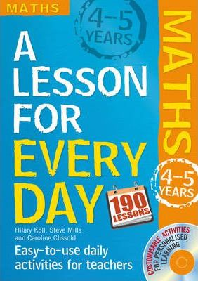 Lesson for Every Day Maths Ages 4-5 4-5 years