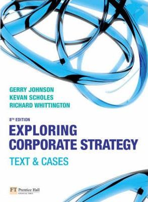 Online Course Pack:Exploring Corporate Strategy:Text & Cases/Companion Website with GradeTracker Student Access Card/Exploring Corporate Strategy Video Resources DVD for Student Pack