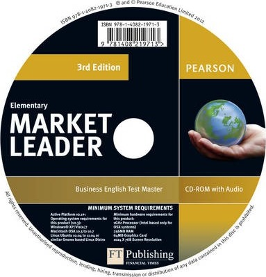 Market Leader 3rd edition Elementary Test Master CD-ROM for Pack