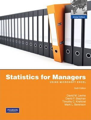 statistics for managers 8th edition answers