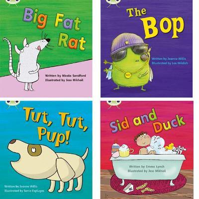 Learn to Read at Home with Phonics Bug Pack 2 (Pack of 4 fiction books)