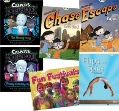 Learn to Read at Home with Bug Club: Orange Pack featuring Casper