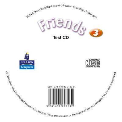 Friends 3 (Global) Test CD for pack