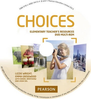 Choices Elementary Teacher's DVD Multi-ROM for pack